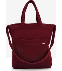 dresowa torba freebag w bordowym kolorze