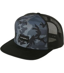 o'neill men's concealed camo trucker hat
