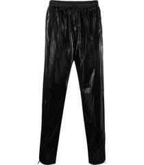 givenchy coated track pants - black