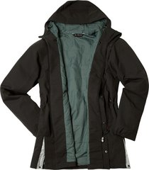 all-weather herenparka, zwart xl