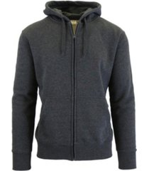 galaxy by harvic men's fleece-lined zip hoodie