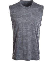 id ideology men's jacquard camo tank top, created for macy's