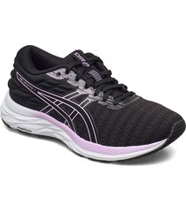 gel-excite 7 twist shoes sport shoes running shoes svart asics