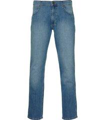 wrangler jeans greensboro- modern fit-blauw