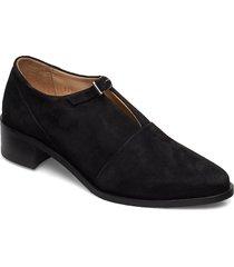 elite suede monk shoe loafers låga skor svart royal republiq
