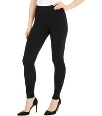 inc floral-applique leggings, created for macy's