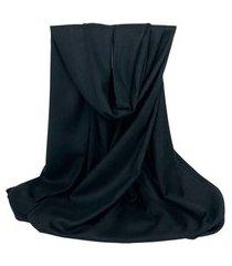 cachecol básico preto