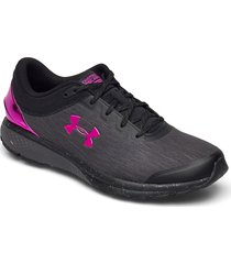 ua w charged escape3 evochrm shoes sport shoes running shoes svart under armour
