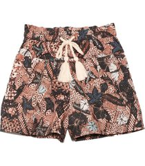 andres shorts in rosewood