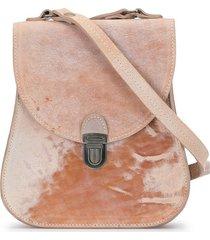 cherevichkiotvichki structured shoulder bag - pink