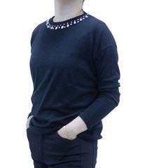 sweater  negro design plus