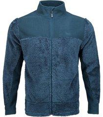 chaqueta ferret shaggy-pro azul noche lippi