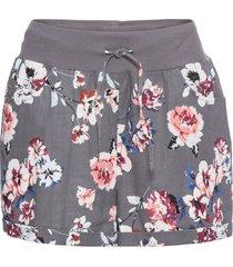 shorts in misto lino (grigio) - bodyflirt