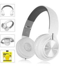 audífonos, fe-006 auriculares plegables con mic-blanco