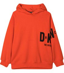 dkny teen sweatshirt with press
