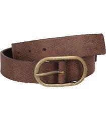 cinturón cuero liso delgado burdeo