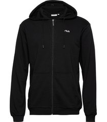 men elazer sweat jacket hoodie svart fila