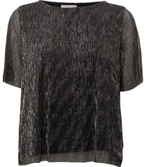 bolethe blouses short-sleeved svart minimum