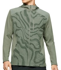 sweater under armour coldgear reactor hybrid lite printed jacket