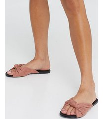 nly shoes romantic knot sandal sandaler