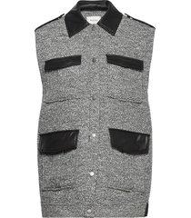 lucilagz waistcoat vests padded vests grön gestuz