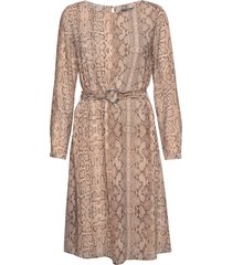dresses light woven jurk knielengte beige esprit collection