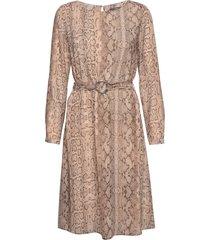 dresses light woven jurk knielengte beige esprit collection