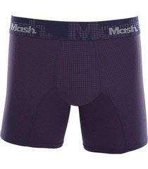 cueca boxer longa microfibra mash