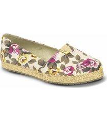 baletas diandra beige-multicolor para mujer croydon
