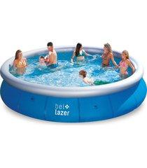 piscina inflã¡vel 11.000 l (457 x 91 cm) - azul - dafiti