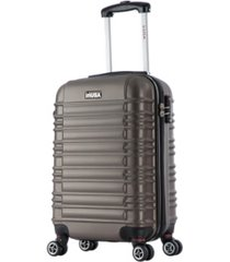 "inusa new york 20"" lightweight hardside spinner carry-on luggage"