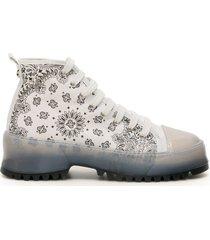 jessie western bandana sneakers