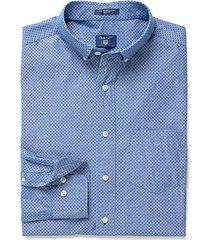 gant overhemd met stippen blauw