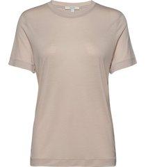 claudia t-shirts & tops short-sleeved beige dagmar
