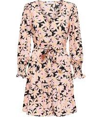klänning onllila l/s short dress