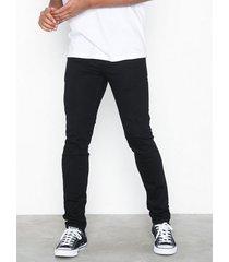 sixth june basic denim jeans svart