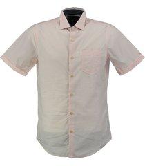 vanguard roze gestreept overhemd