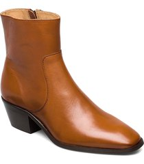 anny drop your gun shoes boots ankle boots ankle boots with heel brun anny nord