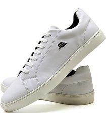 sapatãªnis sapato casual zaru t10mr branco - branco/ - masculino - sintã©tico - dafiti