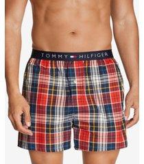 tommy hilfiger men's woven boxers