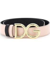 dolce & gabbana reversible belt dg