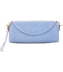 bolsa carteira de palha 10995901 - 10704996 - feminino