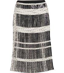tassel knälång kjol multi/mönstrad munthe