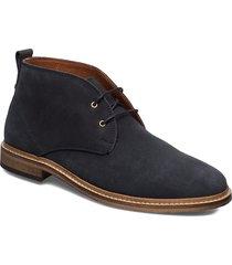 stb-caleb s desert boots snörskor blå shoe the bear