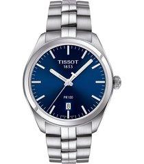 reloj tissot pr 100 t101.410.11.041.00 hombre