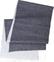women's alpaca-wool double face reversible scarf