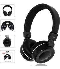 audífonos bluetooth, fe-17 plegable estéreo auricular- negro