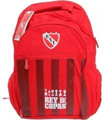 mochila roja independiente oficial