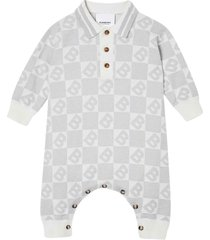 burberry grey romper with press