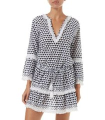 melissa odabash claudia cover-up dress, size large in riviera at nordstrom